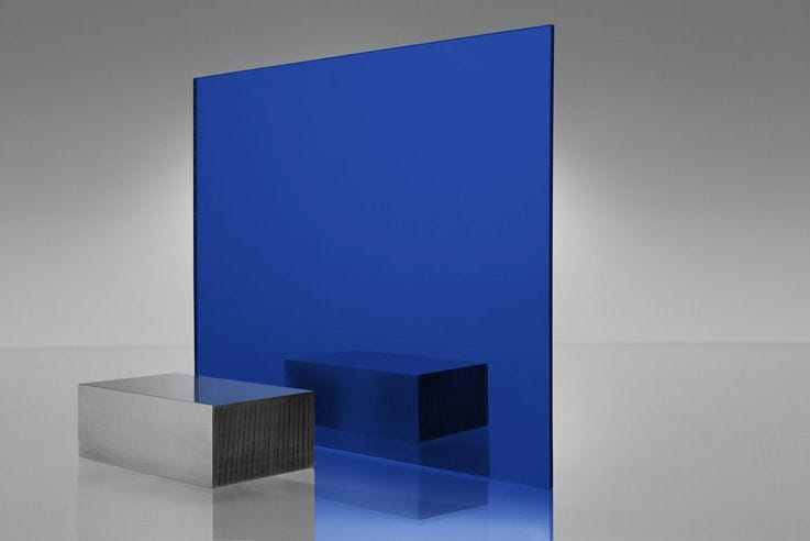 EuroMir Acrylic Night Blue Mirror Sheet 2030 x 1525 x 3mm
