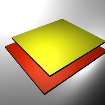 Aluminium Composite Panel Gloss White 1220 x 608 x 3mm