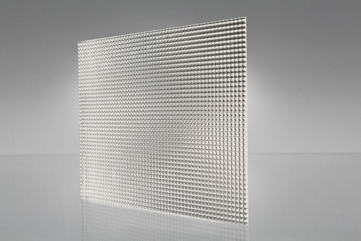 Acrylic Clear Prismatic K12 Sheet 1220x610x2.8mm Light Diffuser High Quality