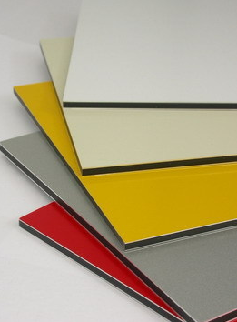 A3 Size Aluminium Composite Panel 420 x 297mm x 3mm White.