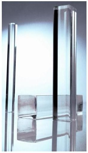 Acrylic Extruded Square Clear Rod Dia 8 To 20mm