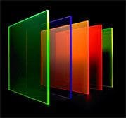 Acrylic Cast Transparent Colour Sheet