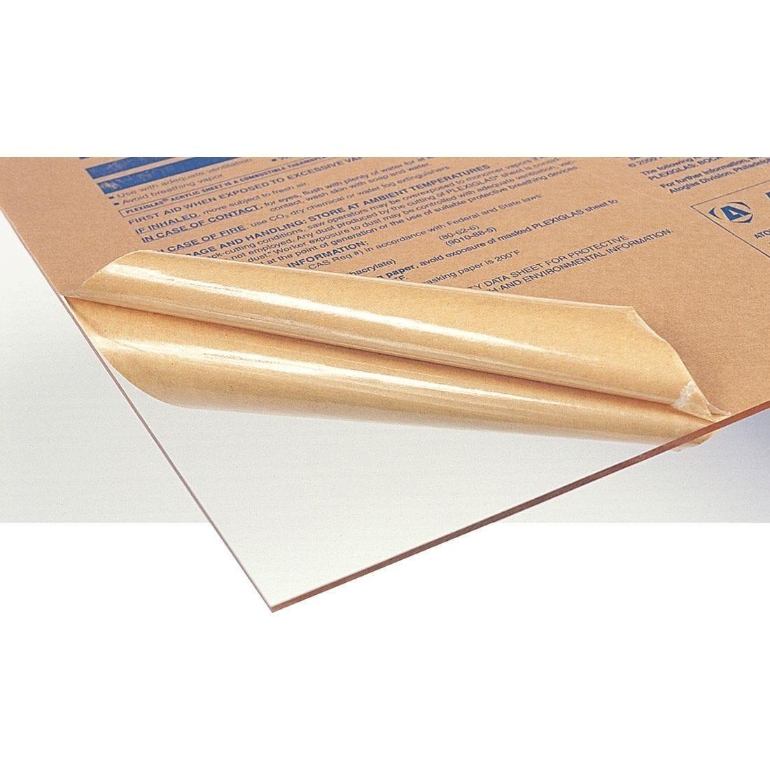 Acrylic Clear Sheet 400x600mm