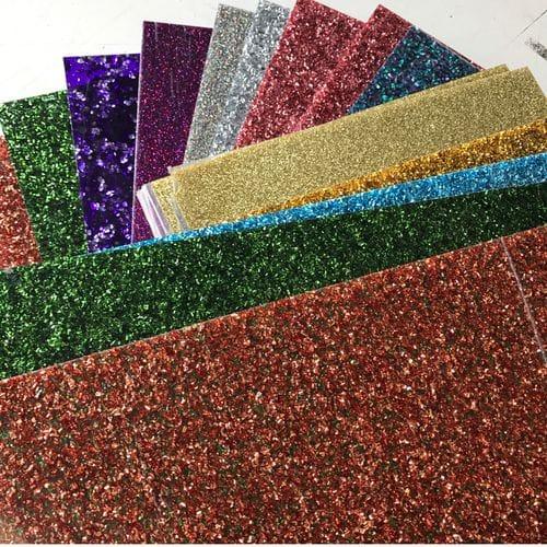 Premium Glitter Flake Acrylic Sheet