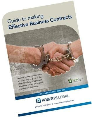 Guide to making Effective Business Contracts | Fast Track Debt Collection Newcastle