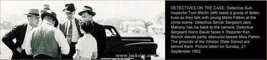 CRIME SCENE PHOTO: Was Betty's Killer A Local?