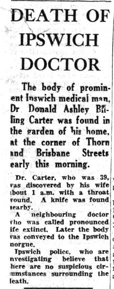SUSPECT #2 THE IPSWICH DOCTOR - EXONERATED