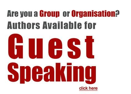 Are you a Group or Organisation? Authors Available for Guest Speaking