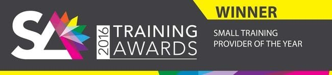 Small Training Provider of the Year Award
