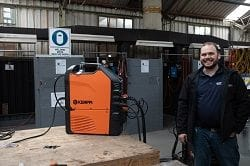 Kemppi welding equipment and Southern Cross Supplies Rep