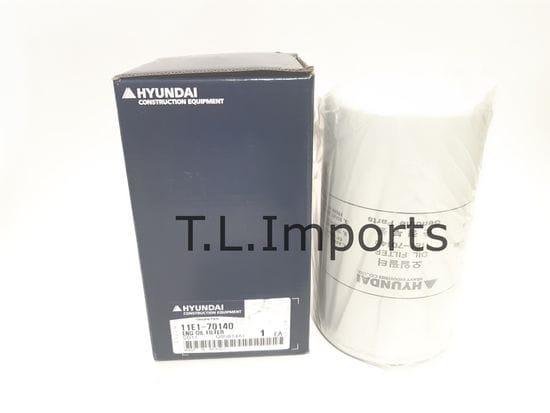 Hyundai Filter-Lub Oil - 11E1-70140