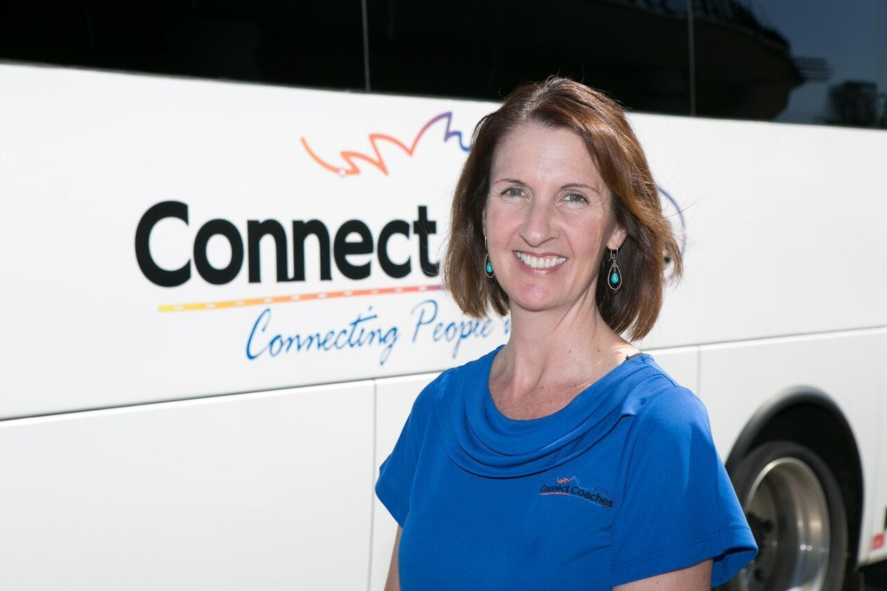 Connect Coaches Tour Director Alison Green