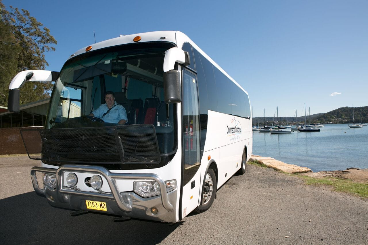 Connect Coaches Midsize Coach 28 Seated Coach available for Airport or Cruise Transfers