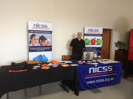 NICSS attends SA Deaf Expo