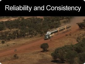 Reliability and Consistency of Supply