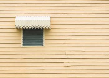 Colonial Style Exterior Window Hood