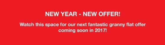 New Year - New Offer! New Offers Coming Soon In 2017!