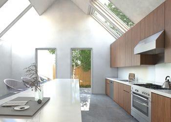 Small Modern Home Interior