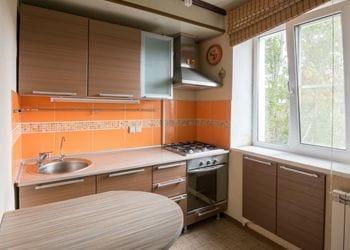 Small Home Kitchen Interior