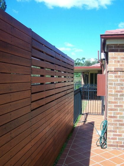 Screen Fencing