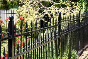Decorative and tubular fencing