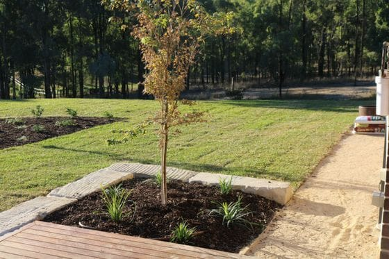 Woodland Ridge Estate Landscaping.