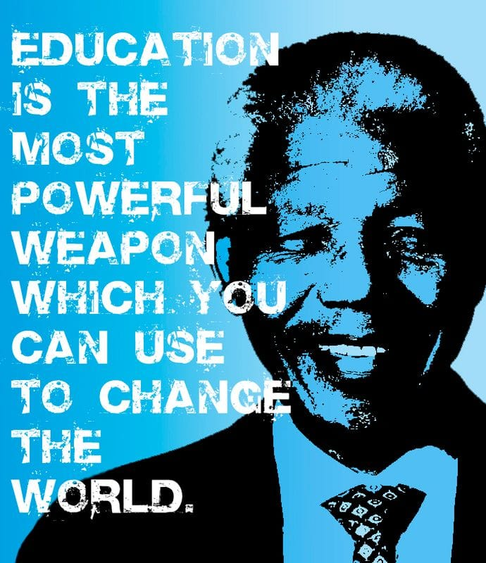 Nelson Mandela on Eduction