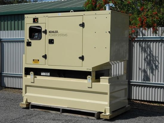 Generator Bunded Base Fuel Tanks