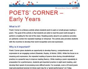 Poets Corner K-3
