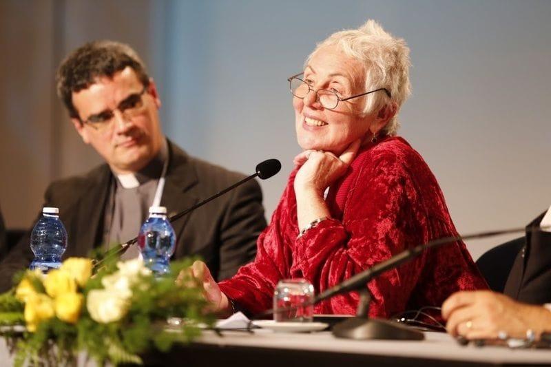 Joy B presents on Leadership in Rome