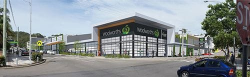 Nelson Bay Woolworths Redevelopment