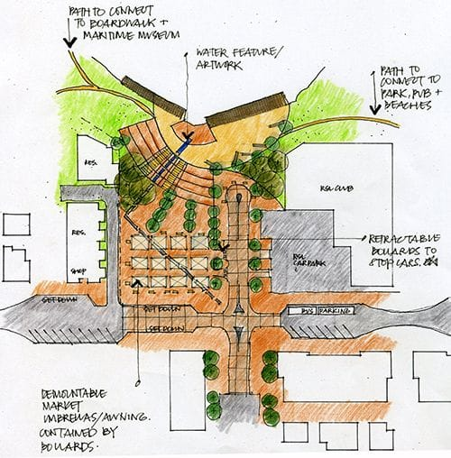 Huskisson Plaza Master Plan - Jervis Bay