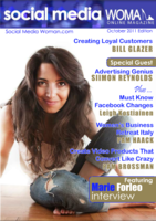 Social media women online magazine
