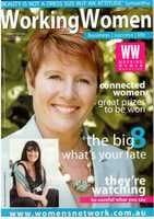 Working Women Magazine cover summer 2009
