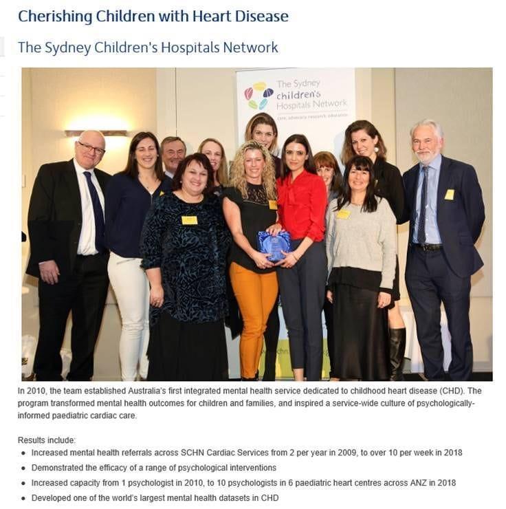 NSW Health Award Finalists - Please VOTE.