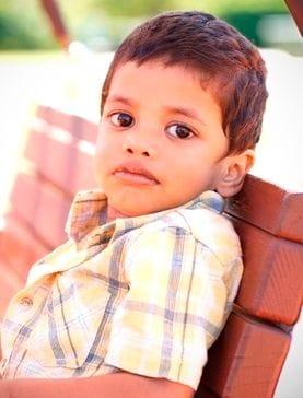 Help us to help kids like Sunil