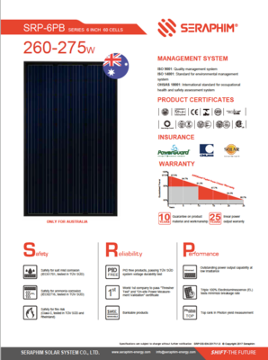 Solar Panel Brochures Brisbane and Gold Coast