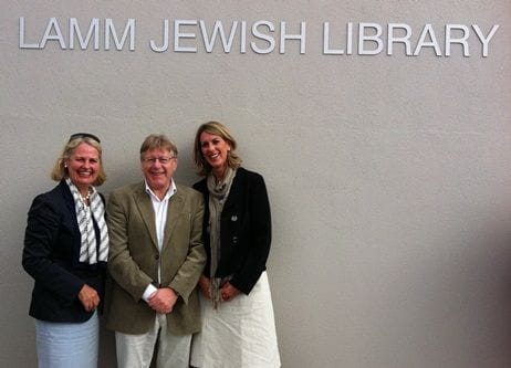 Georgie Attends The Official Opening Of The New Lamm Library