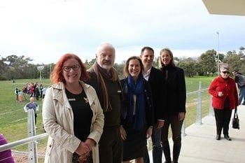 New Sheridan Pavilion unveiled (28.07.2013)