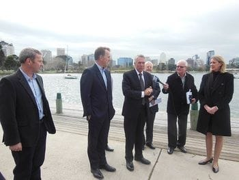 Living Victoria - First Grant goes to Albert Park (26.07.2013)