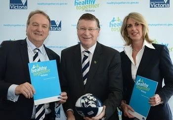 Healthy Together Victoria and the Geelong Cats (31.08.2013)