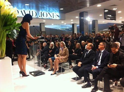 New David Jones store adds to Victoria's economy and prosperity (12.9.2013)