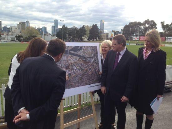 Australia's largest urban renewal precinct will drive a more liveable Melbourne (16.09.2013)