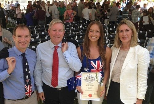 New citizens join in Australia Day celebrations in Albert Park