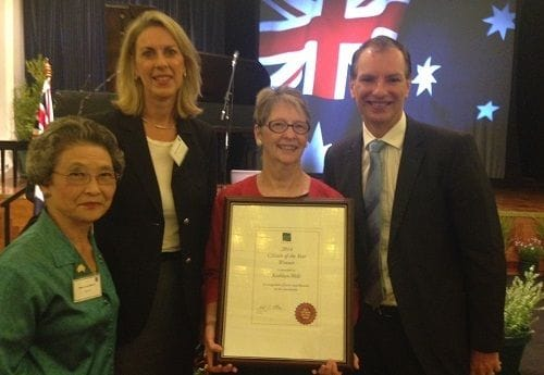 Australia Day - Citizens recognised by Glen Eira City Council