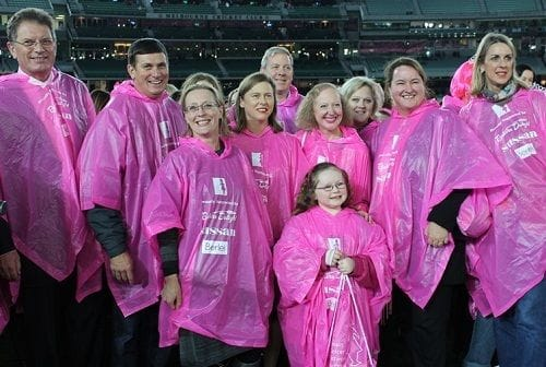 Pink Lady at the MCG