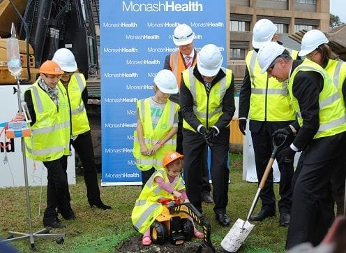 Work begins on $250 million Monash Children's Hospital, creating more than 700 jobs