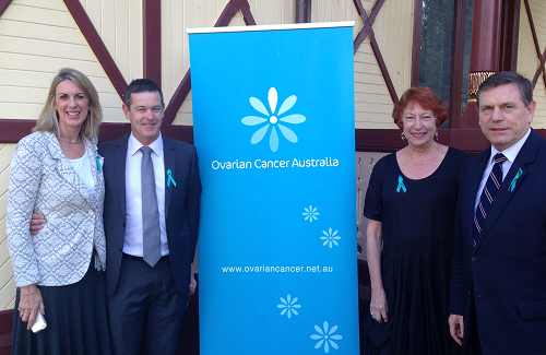 Teal Ribbon Day - raising awareness of Ovarian cancer