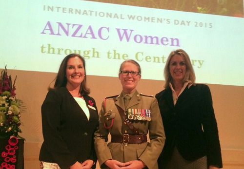 Recognising ANZAC women