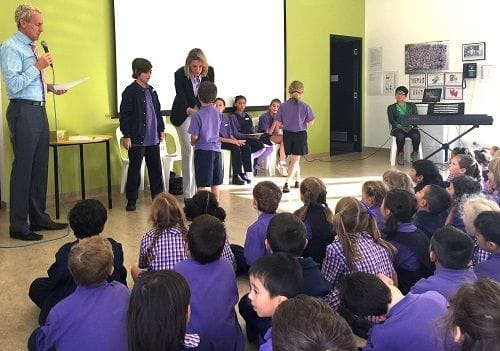 Recognising Caulfield Primary School leadership
